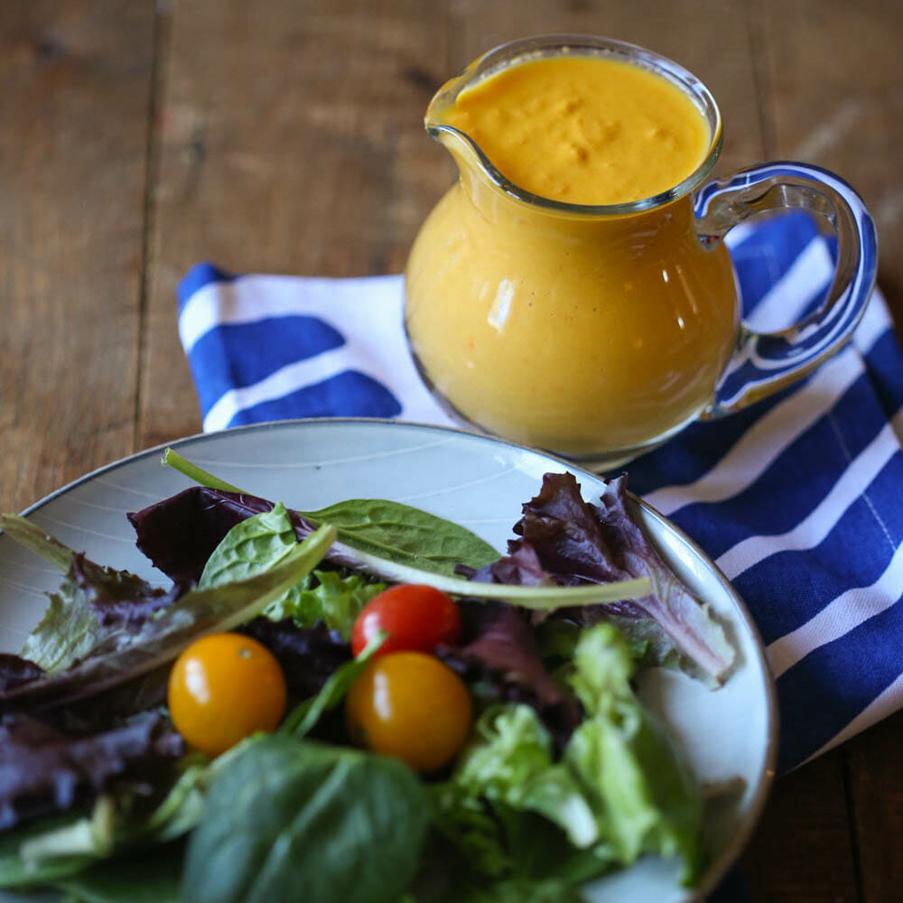 Miso Ginger Salad Dressing