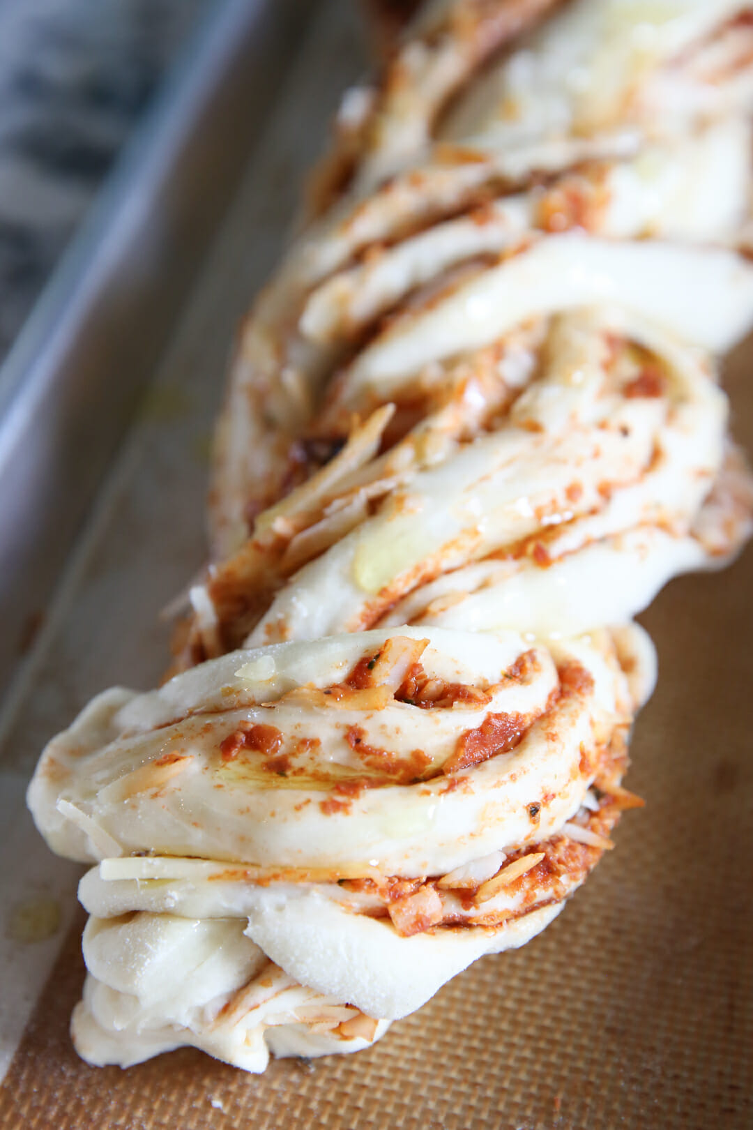 braided italian bread