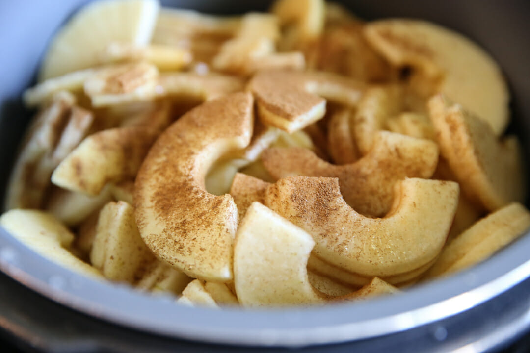 Pressure Cooker Apple Sauce