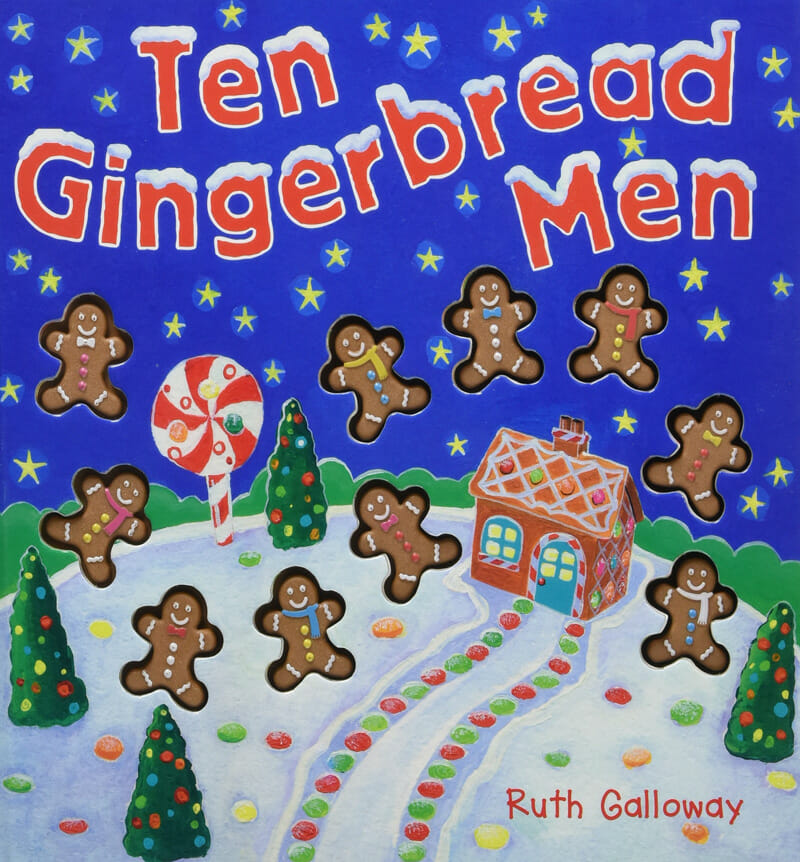 Christmas book for toddler