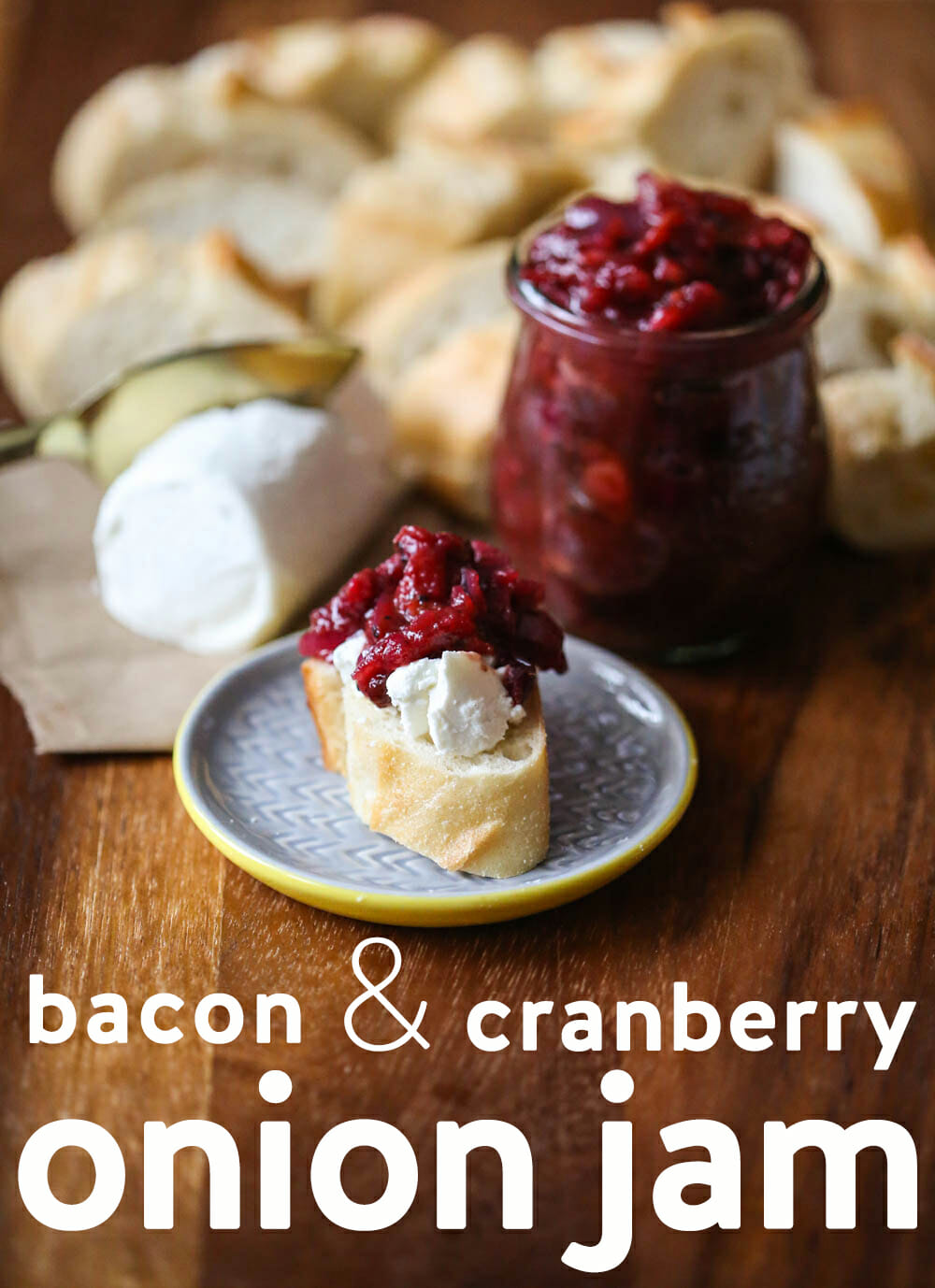 Bacon and Cranberry Onion Jam from Our Best Bites