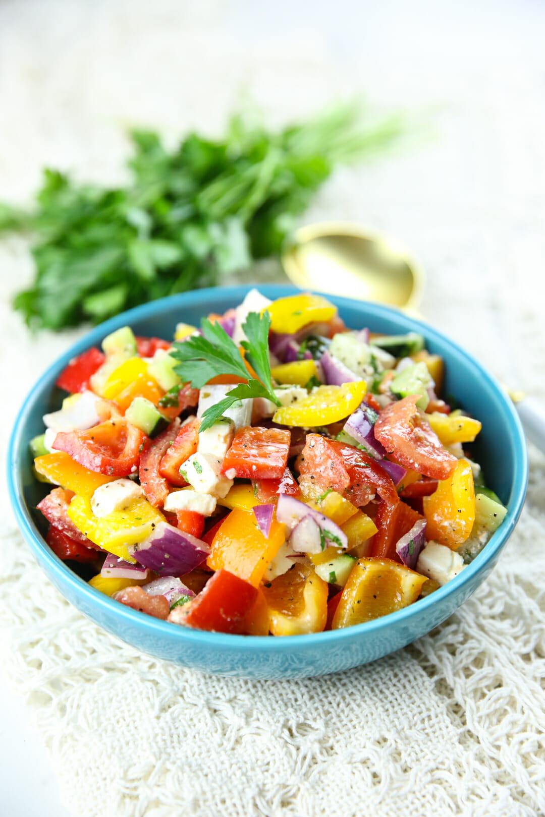 healthy vegetable salad recipe