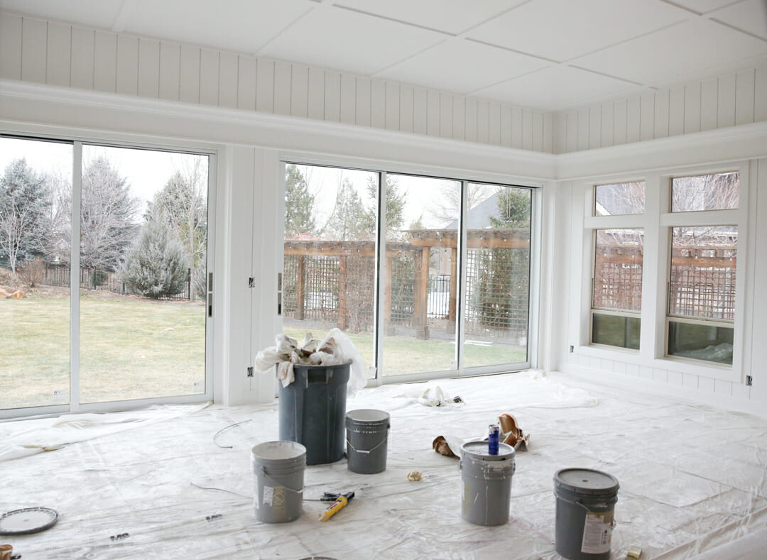 how to convert a porch to a sunroom