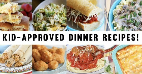 Kid Friendly Dinner Recipes