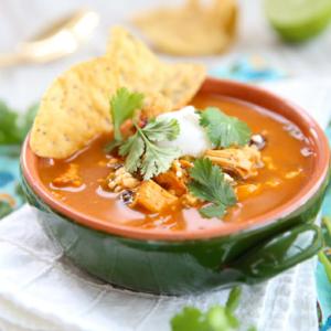 Pressure Cooker Tortilla Soup