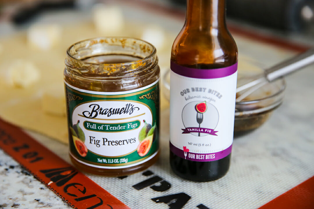 Balsamic with fig jam