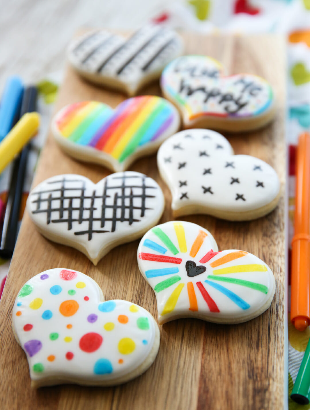 Easy decorated sugar cookies