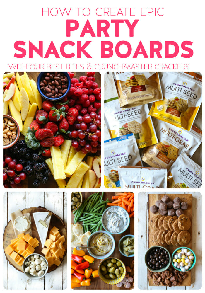 how to create epic party snack boards