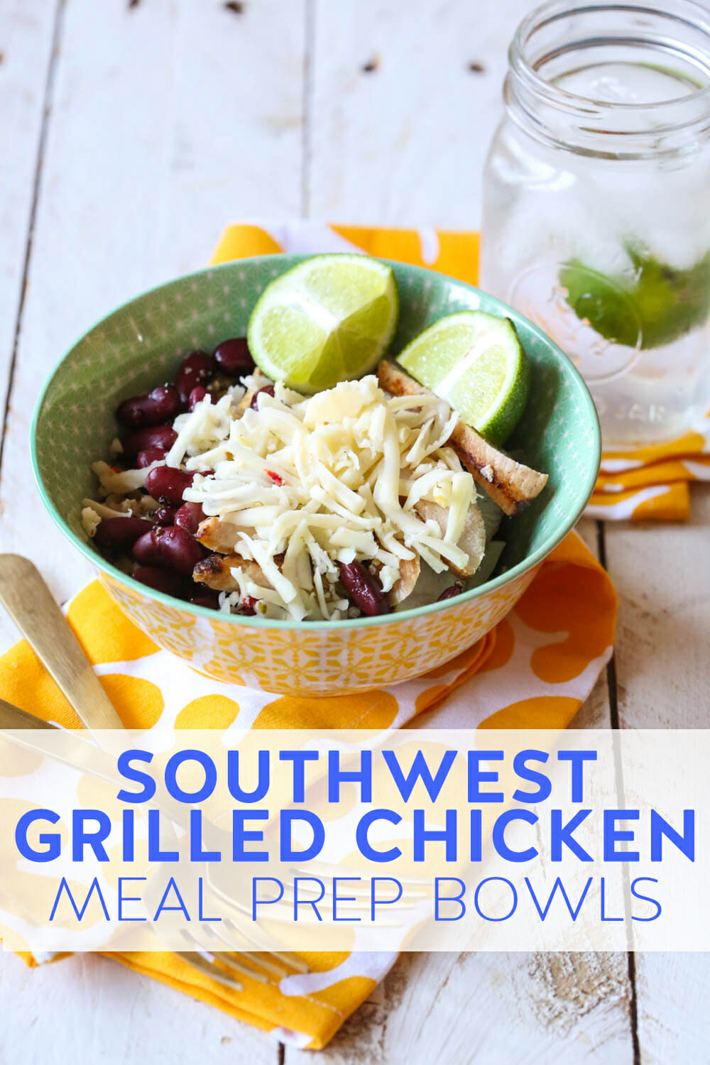 southwest grilled chicken bowl