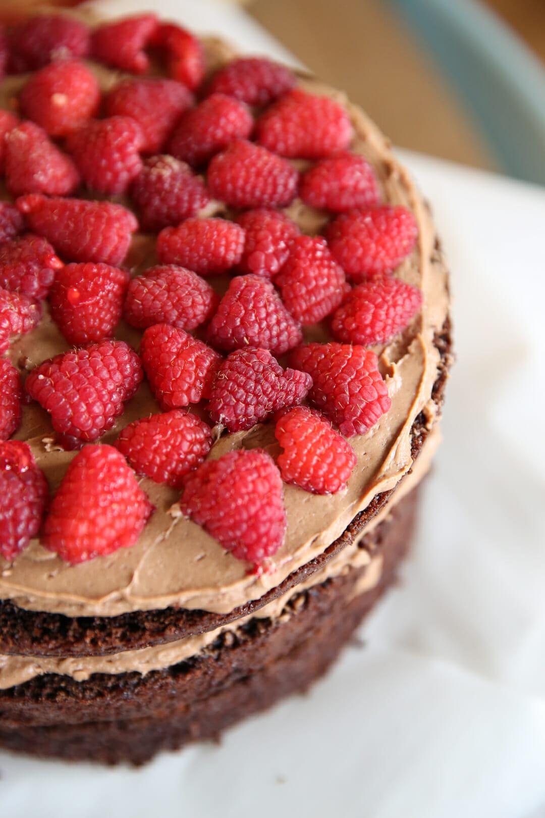 raspberry cake filling