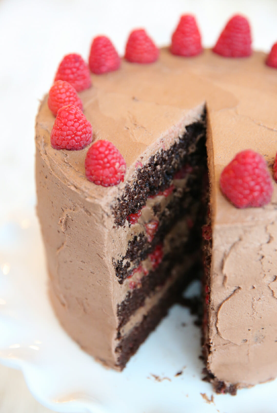 How To Make Raspberry Mousse Cake Filling