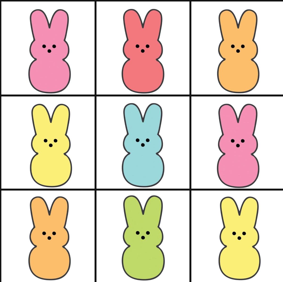 Easter Peeps Printables