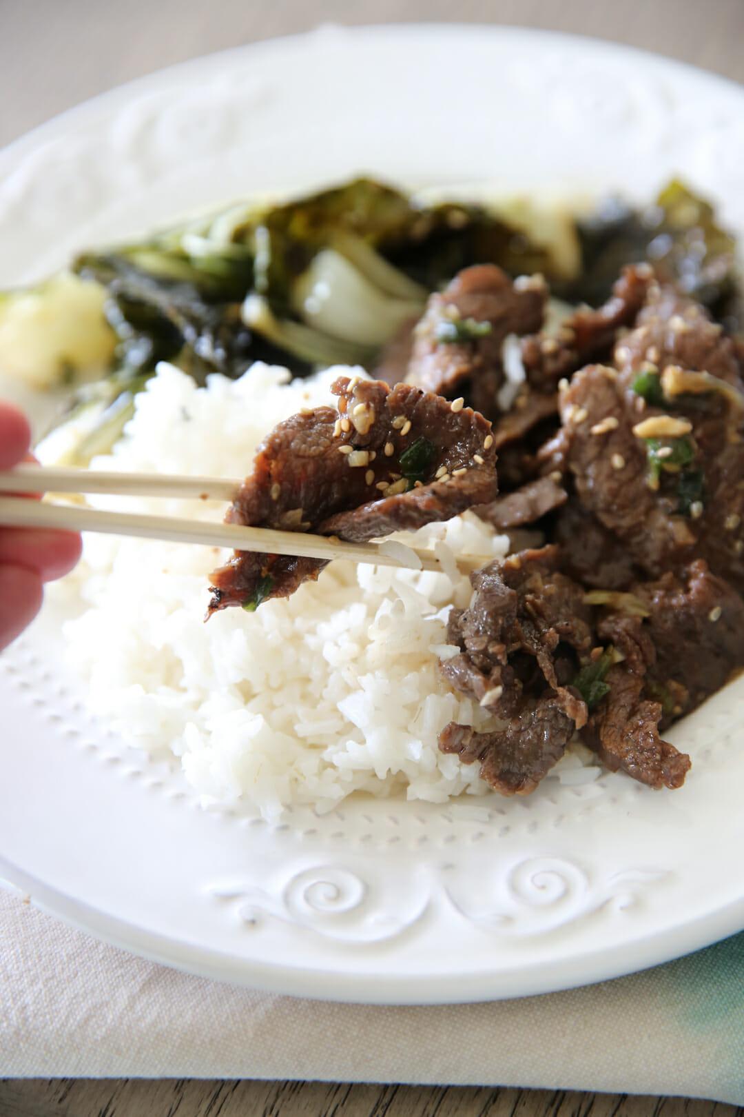 Korean Beef BBQ Bulgogi