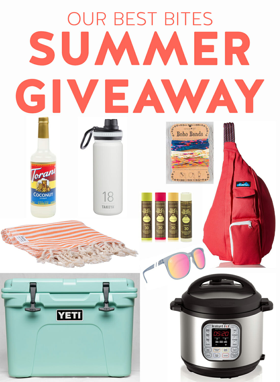 Our Best Bites Summer Giveaway