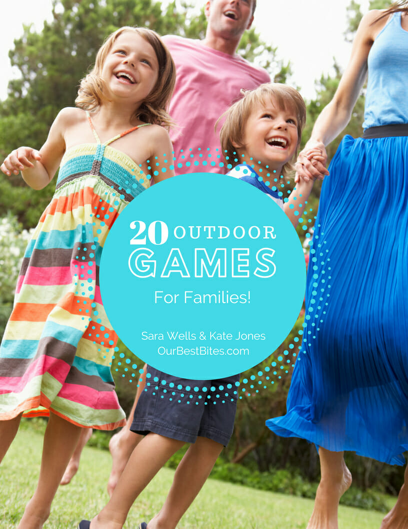 20 outdoor games for families