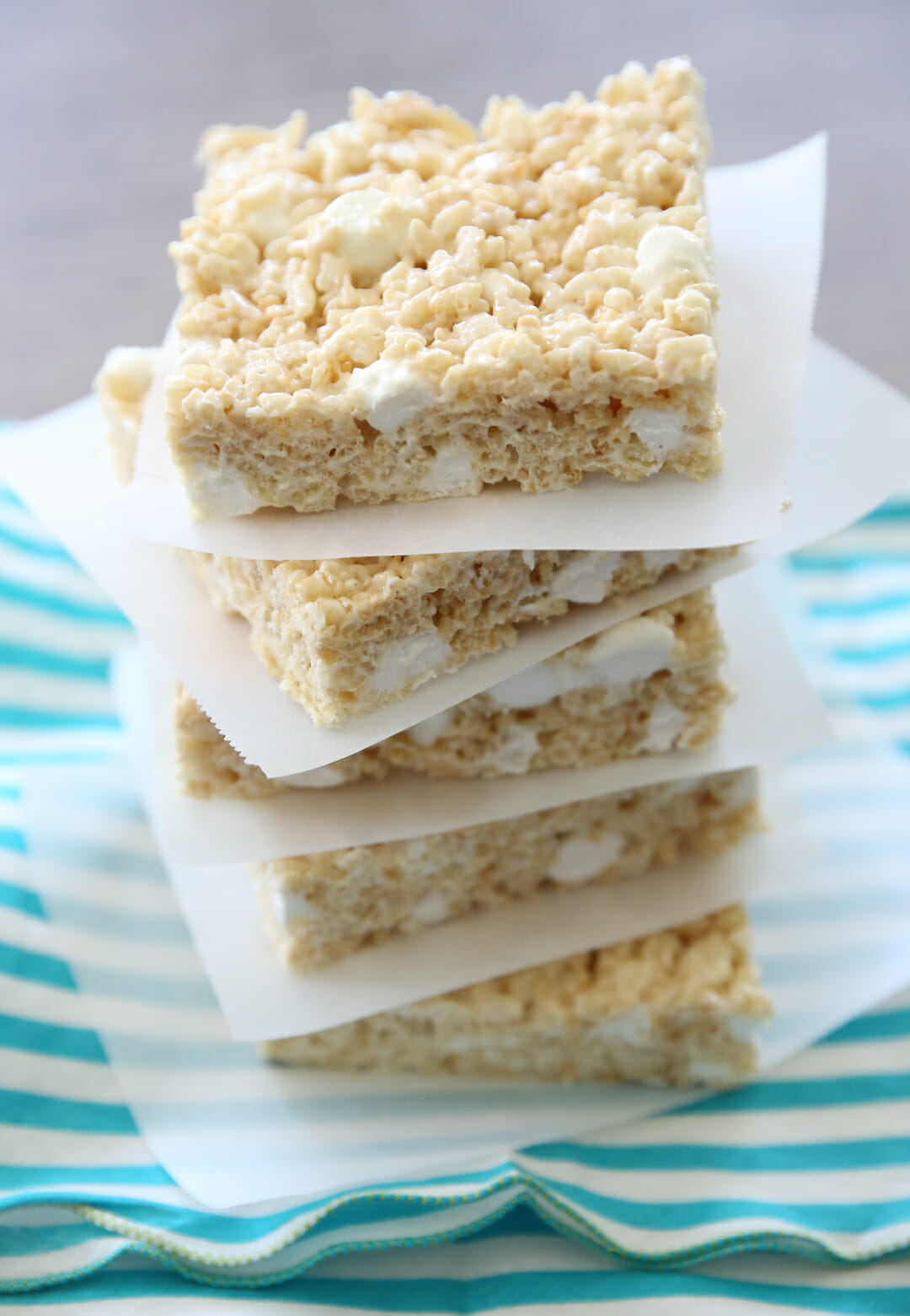 Stacked krispie treats