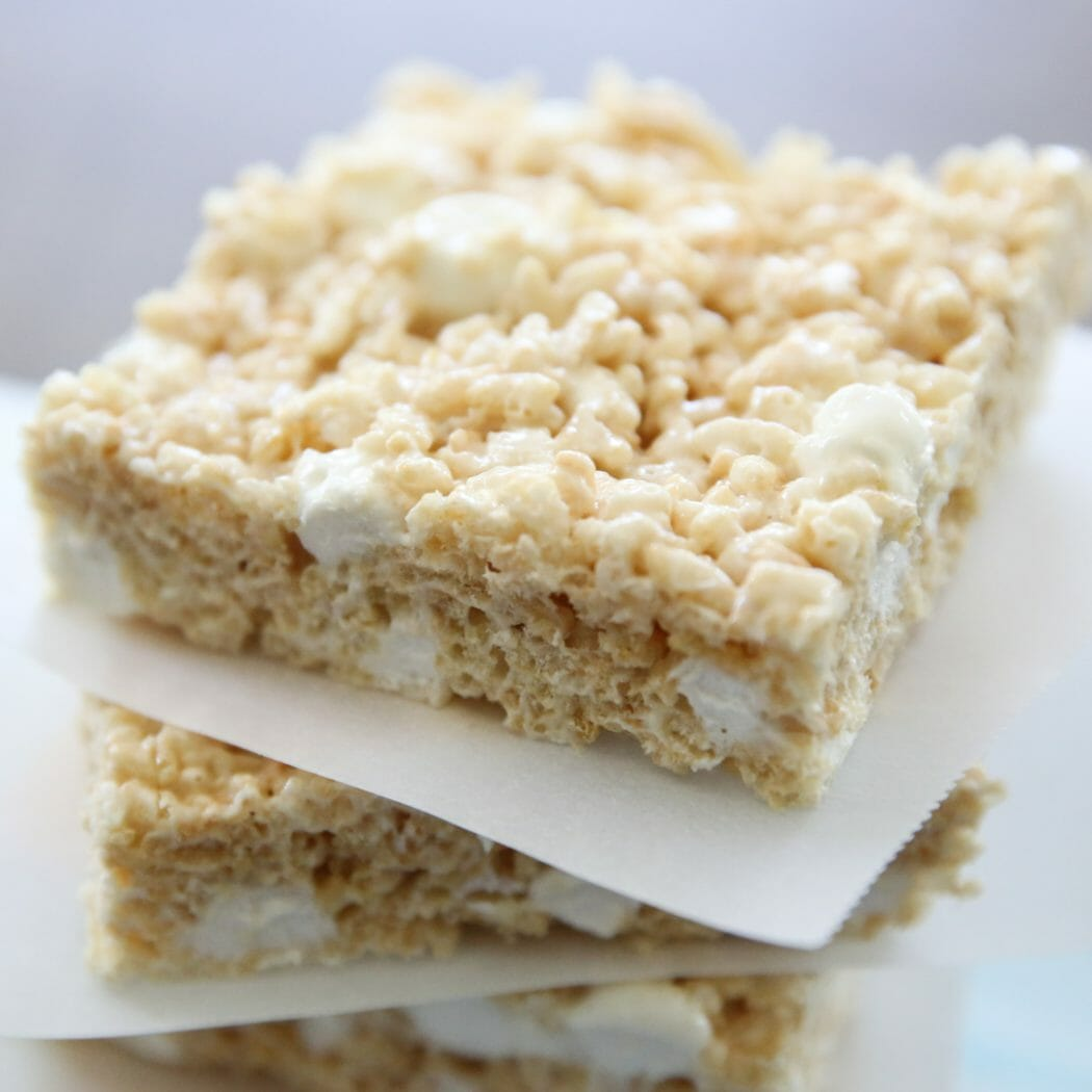 Large Batch Rice Krispie Treats