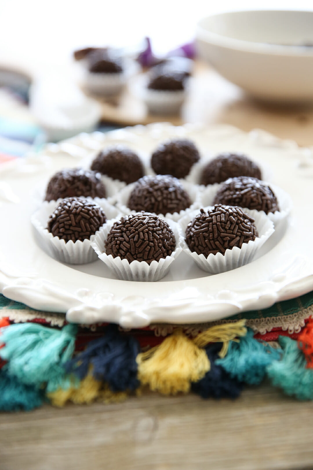 Plated Fudge Balls Recipe