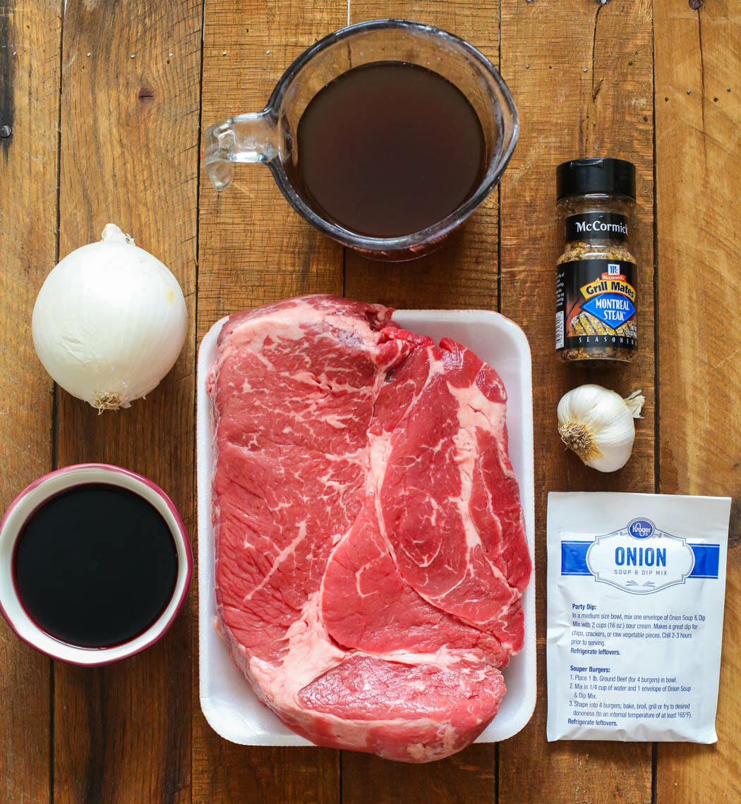 Instant Pot Pot Roast Ingredients