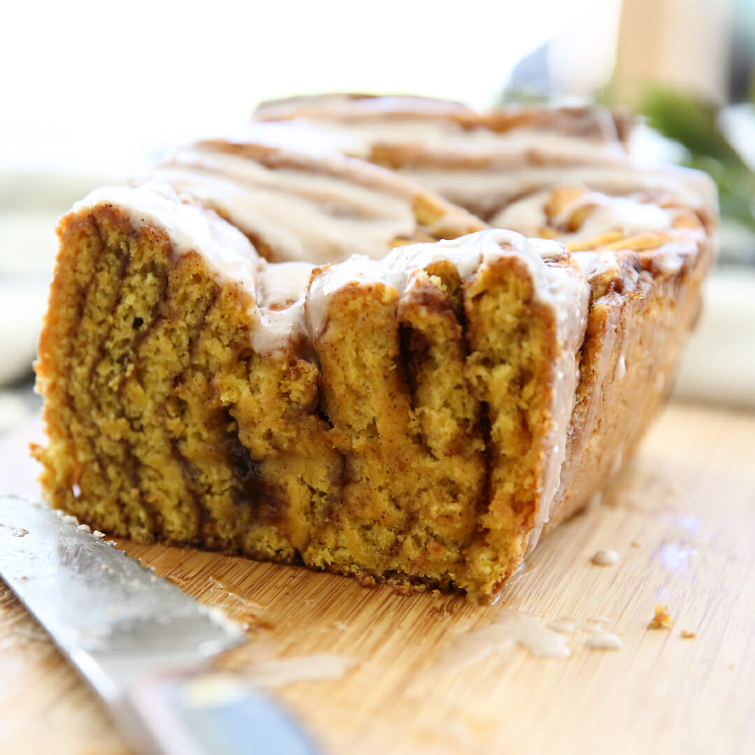 Pumpkin Pull-Apart Bread
