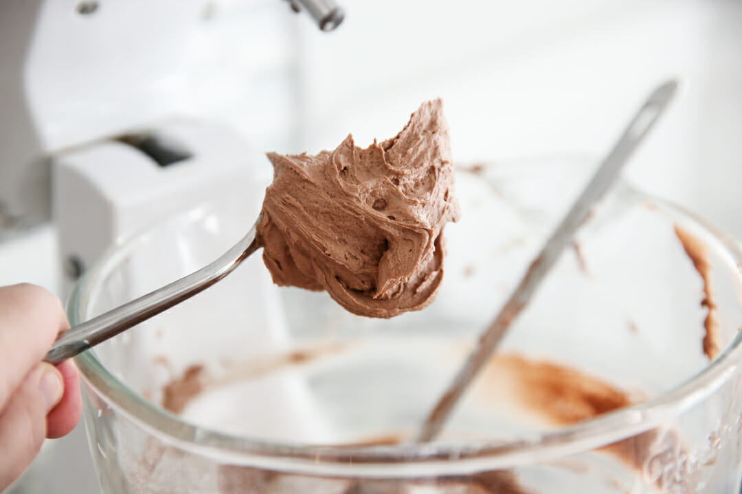 Chocolate Buttercream Process