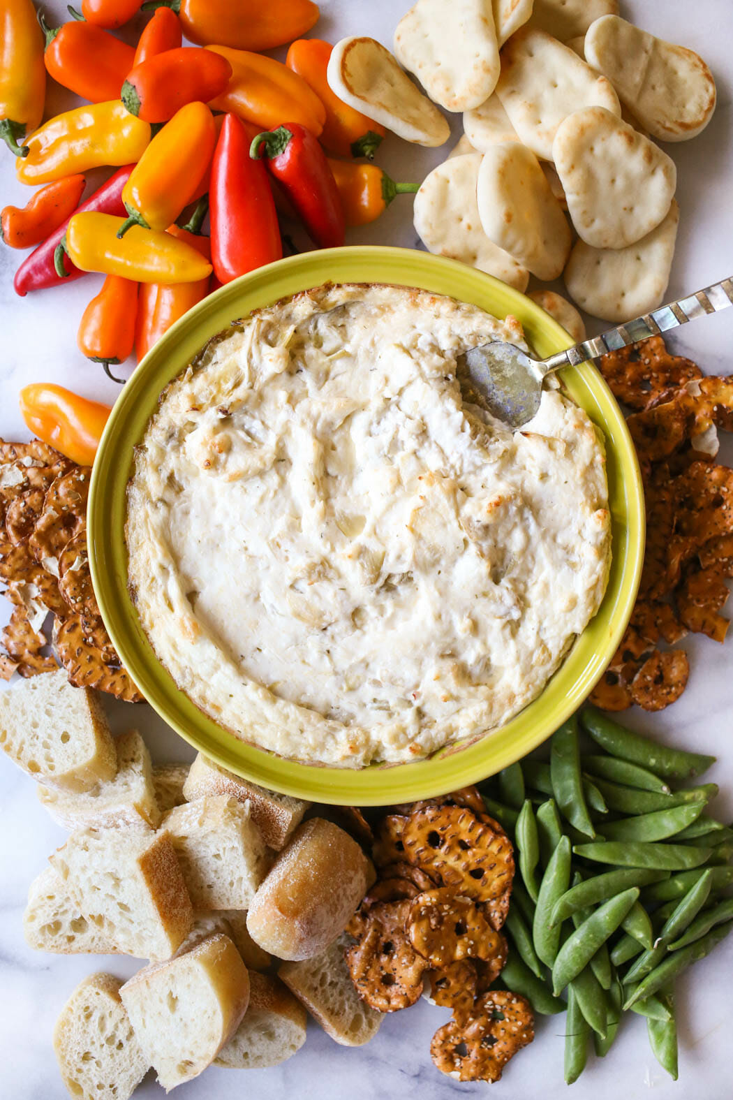 Garlic Artichoke Dip from Our Best Bites