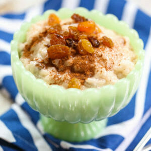 Quick And Easy Rice Pudding