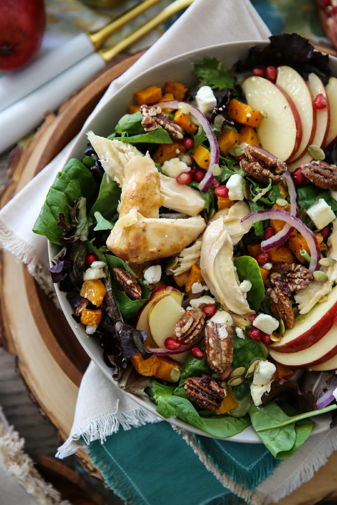 Overhead shot of Harvest Salad