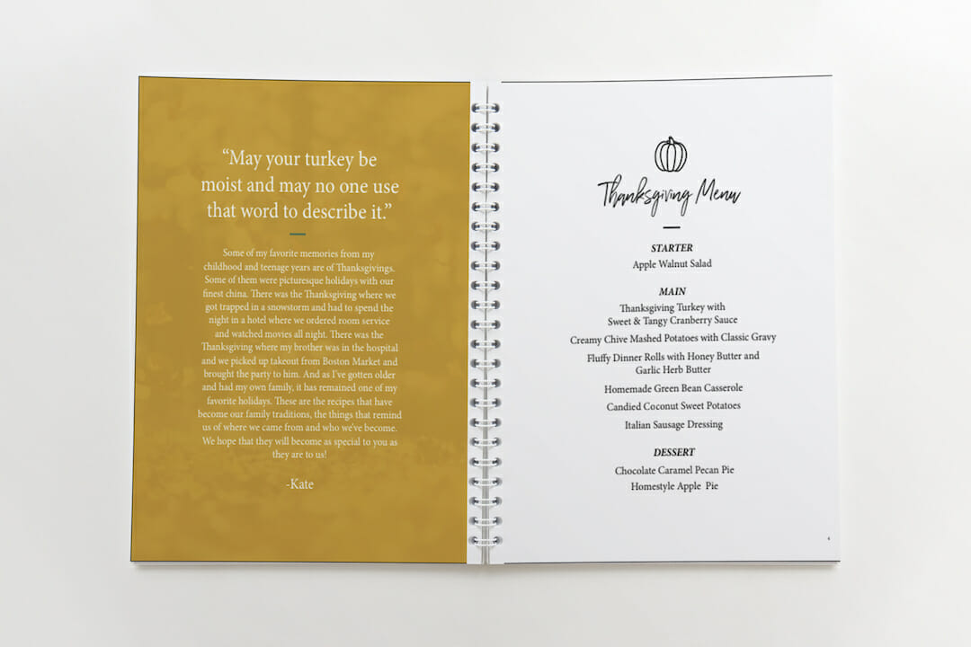 Thanksgiving pages