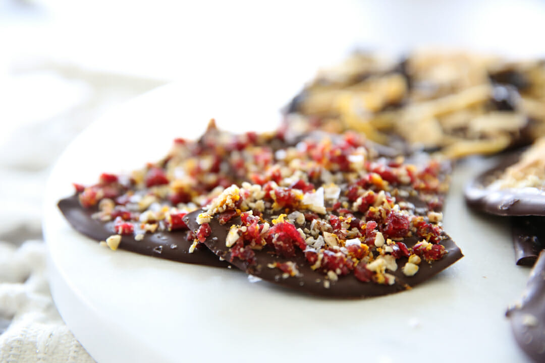 cranberry orange bark