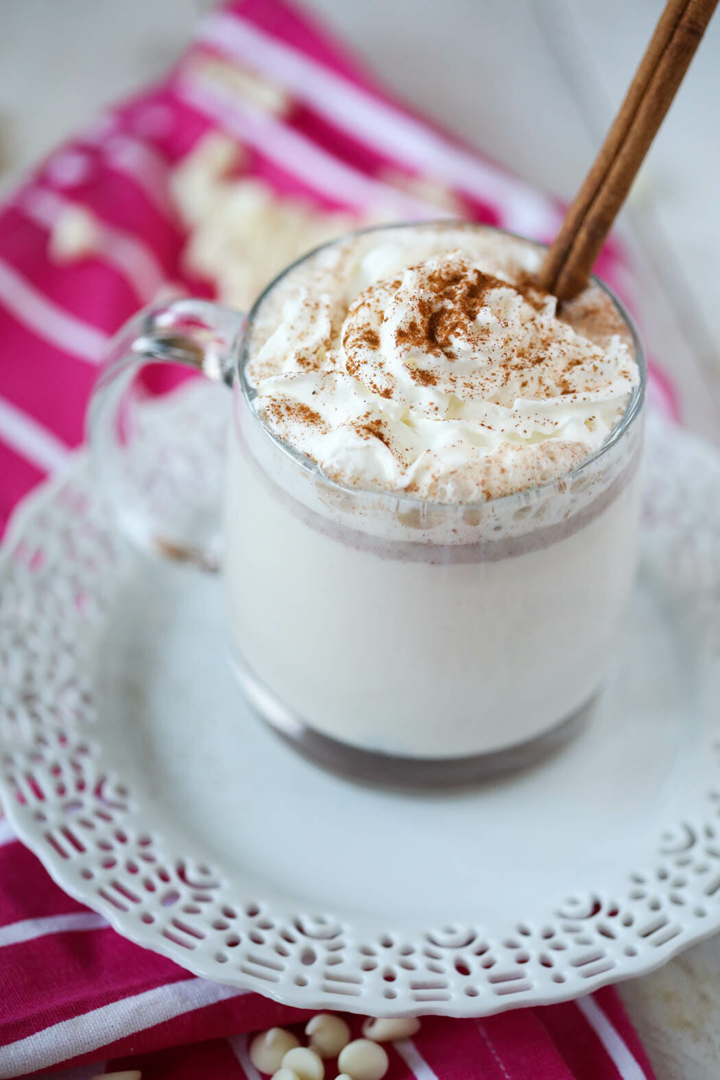 copycat starbucks snickerdoodle white hot chocolate