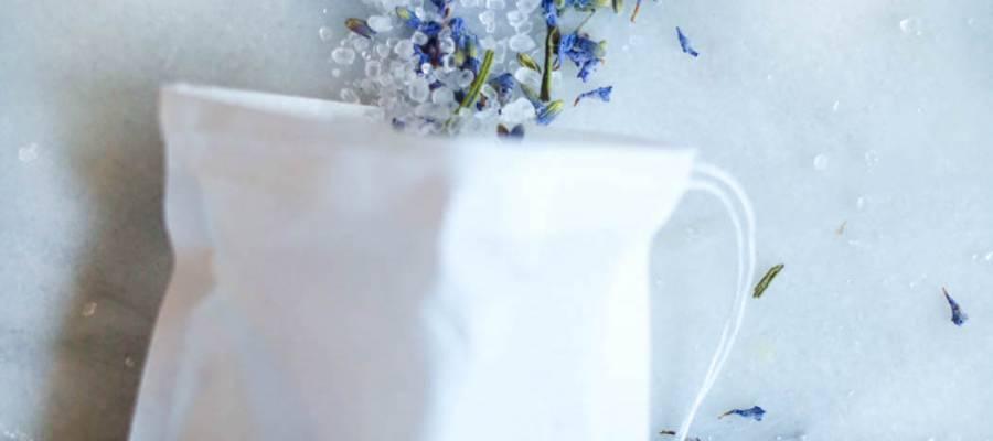 lavender bath soak tea bag