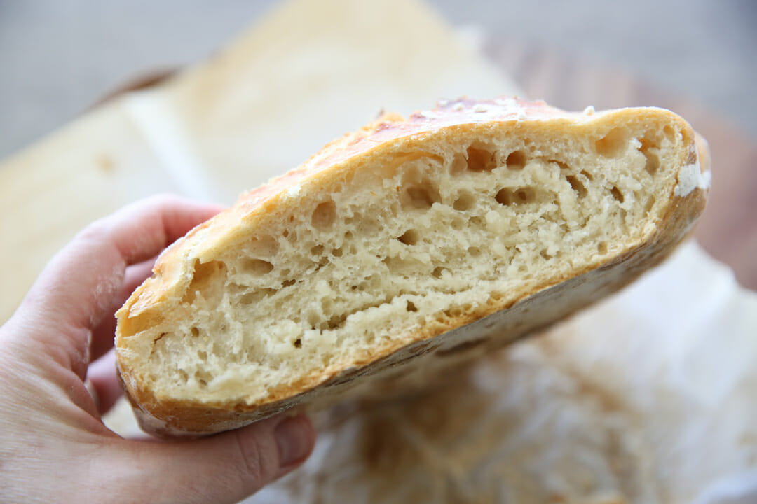 Center of Artisan Bread