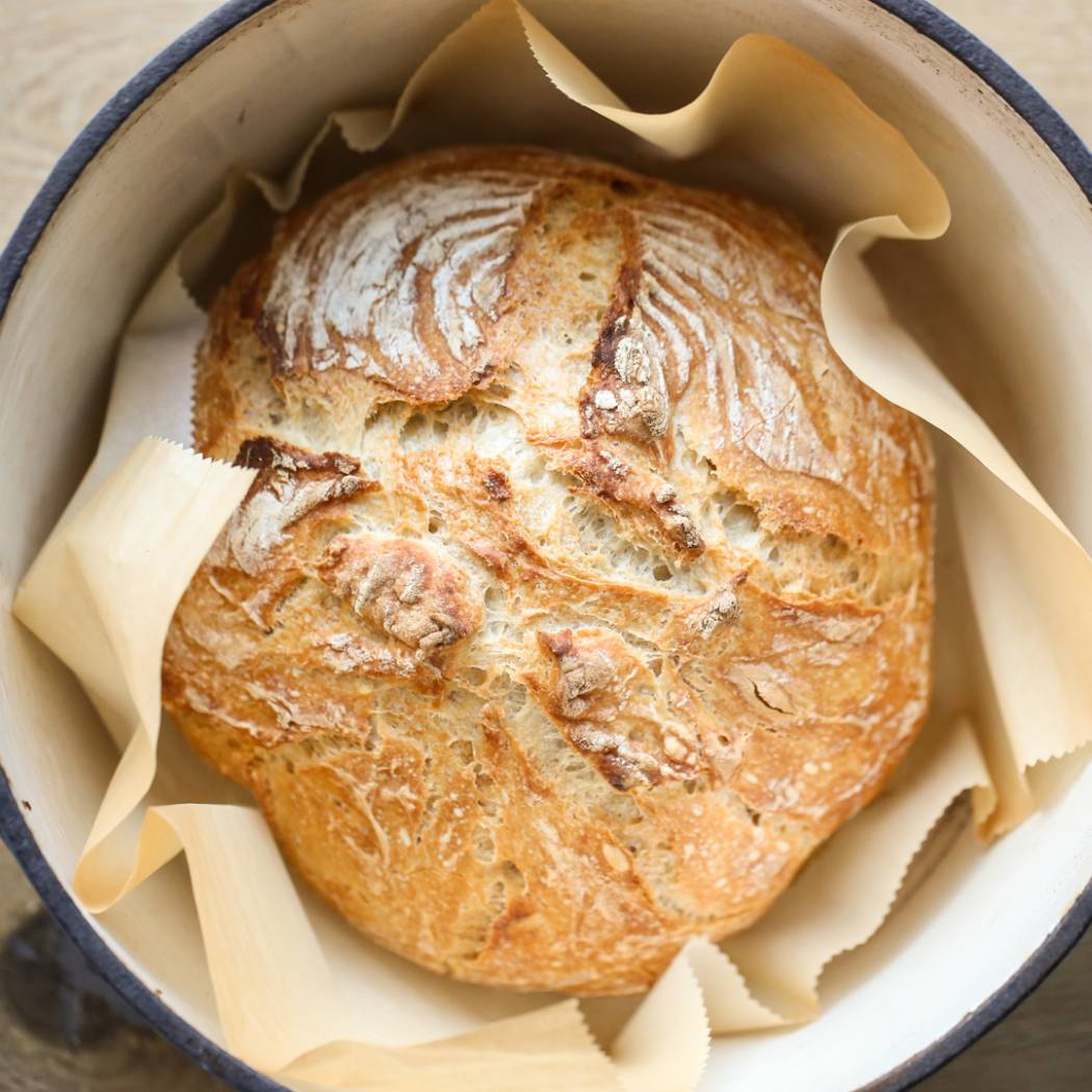 Easy No Knead Overnight Artisan Bread