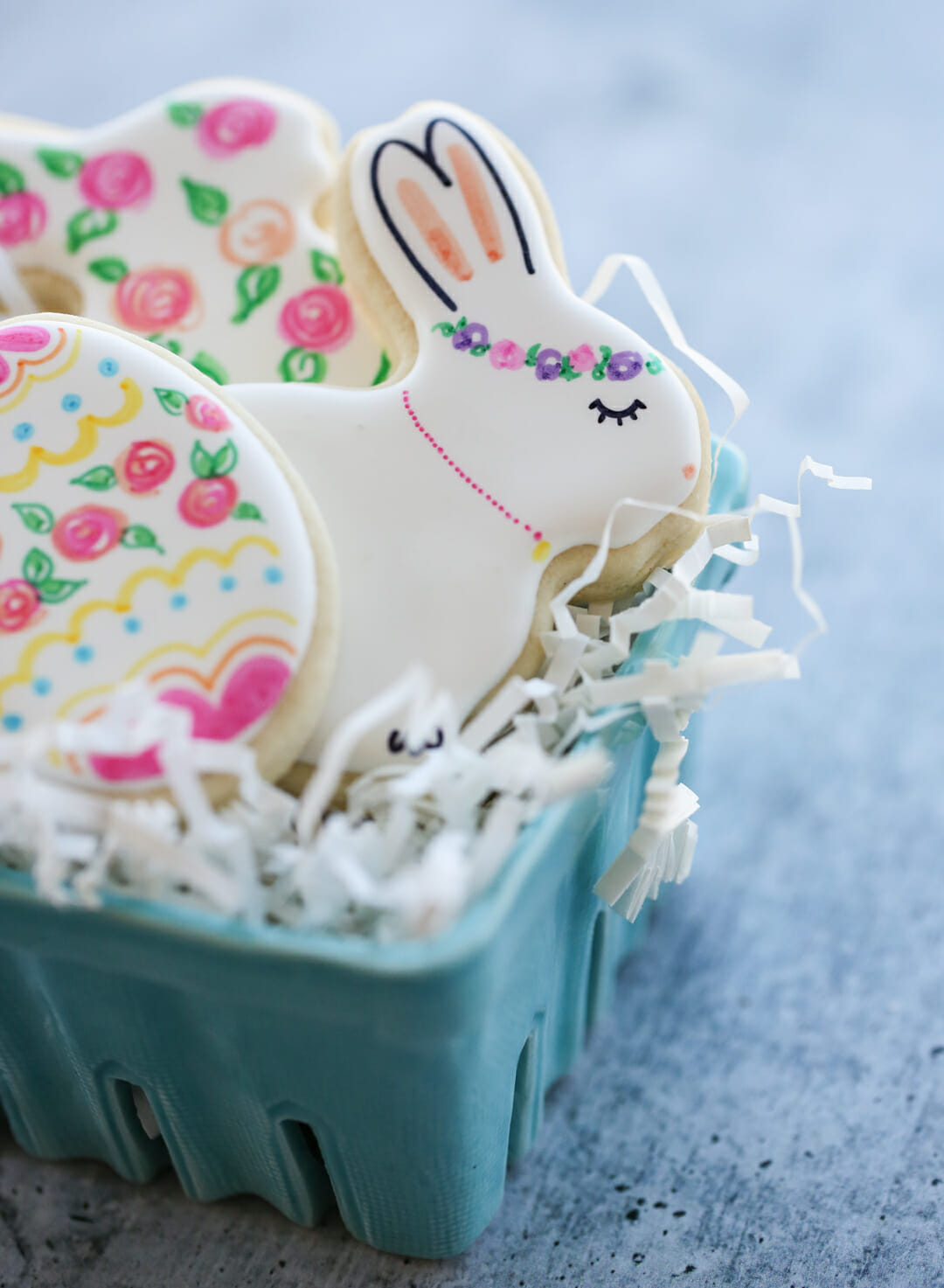 Whimsical easter cookie designs