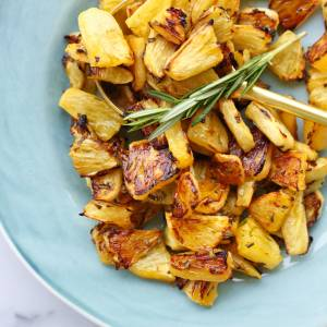 Roasted Rosemary Pineapple