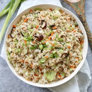 Fried Rice in Bowl