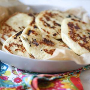 perfect homemade naan