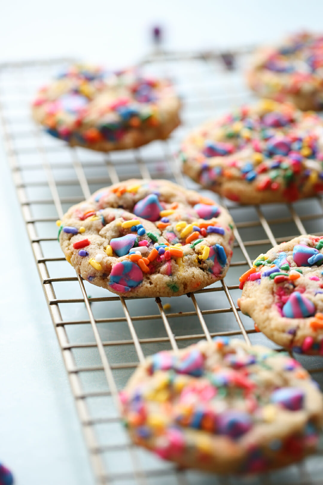 baked funfetti cookies
