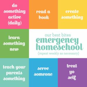 Our Best Bites Homeschool