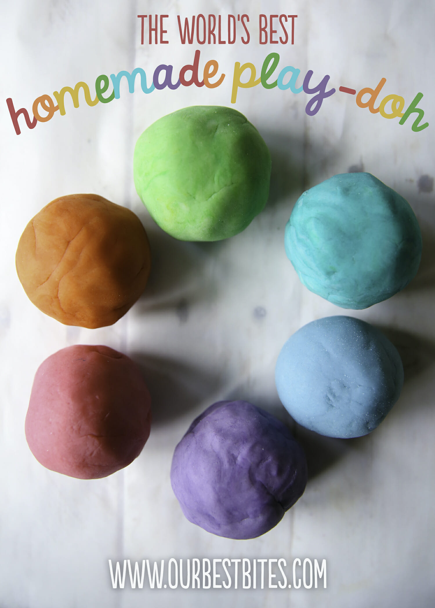 the world's best homemade play doh