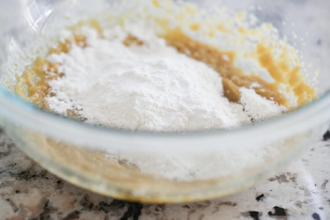 dry ingredients in bowl