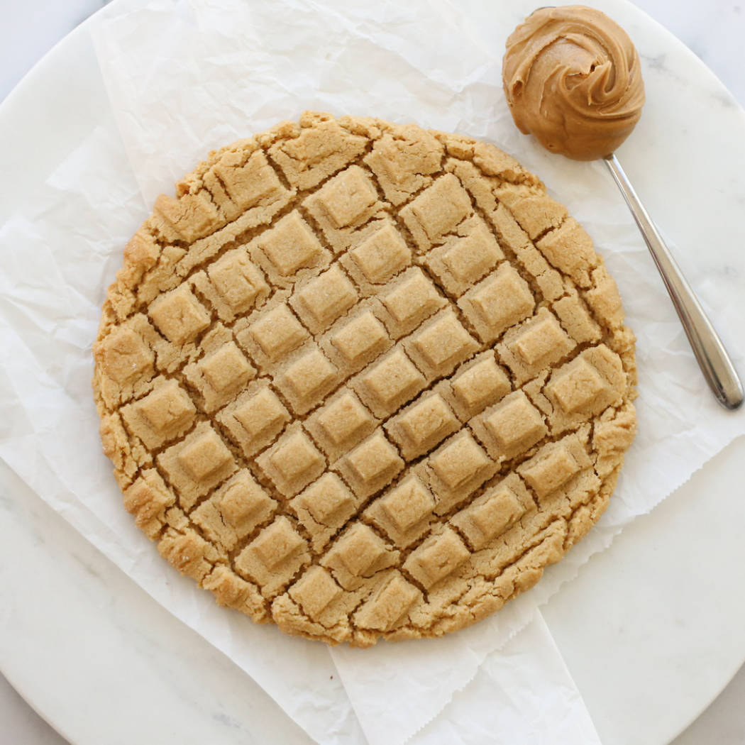 Big Giant Peanut Butter Cookie