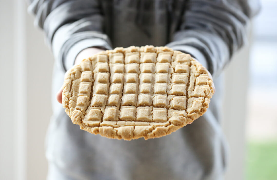 Giant Peanut Butter Cookie