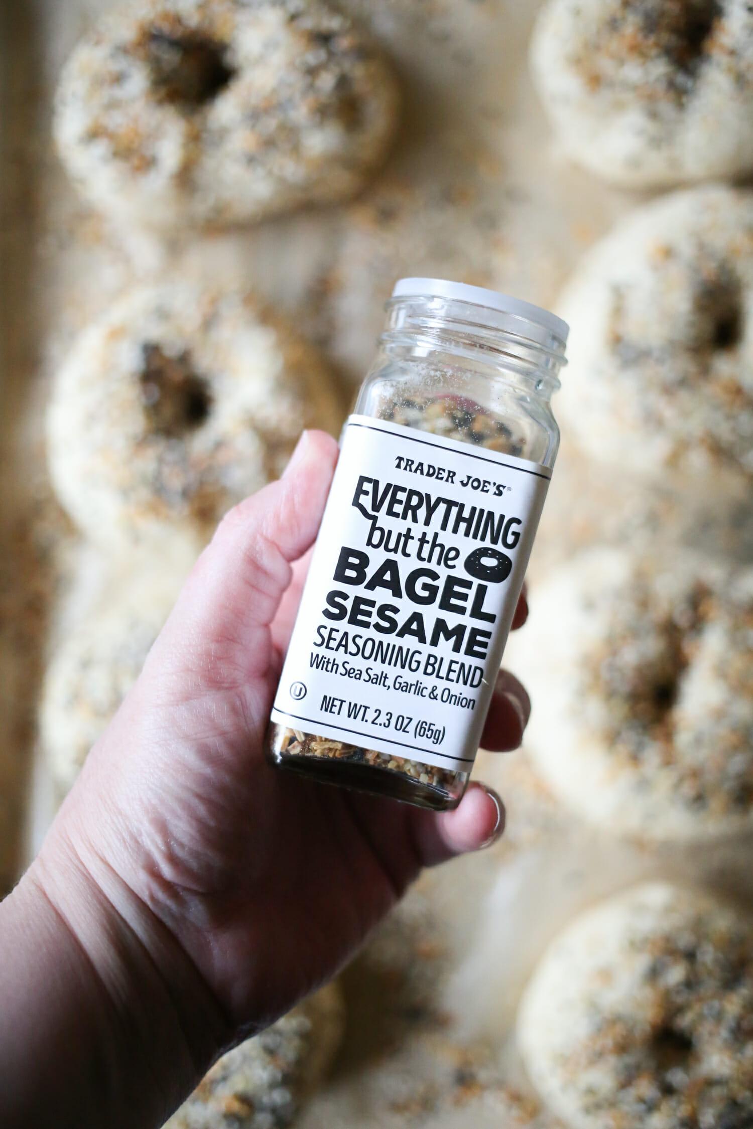 seasoning bagels
