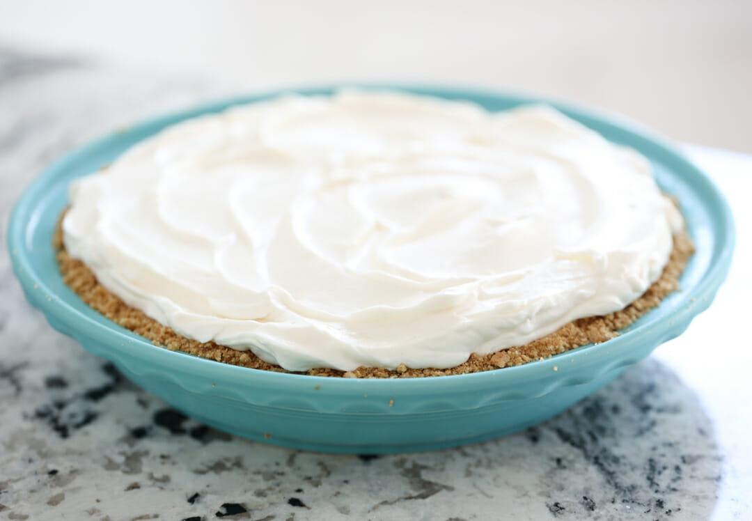 cheesecake in pan