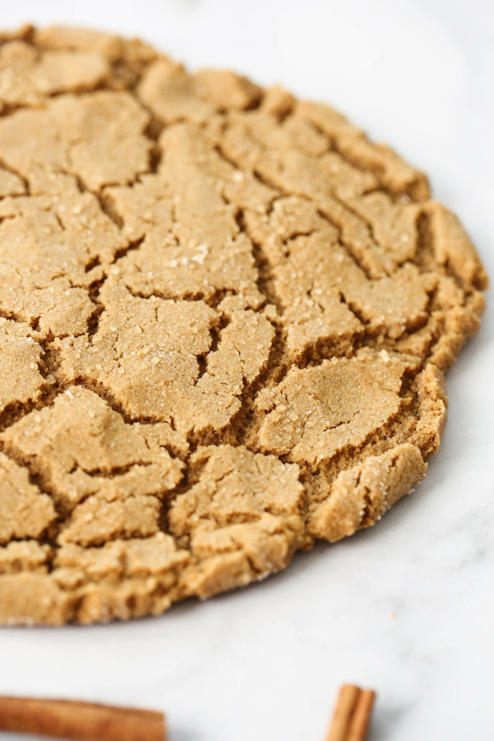 soft and chewy ginger cookie