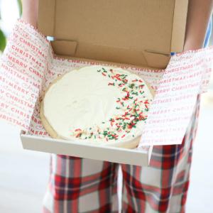 Giant Sugar Cookie