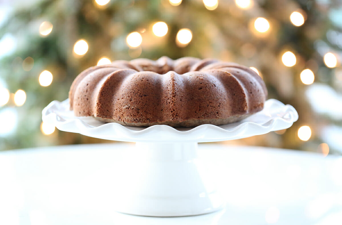 Baked Bundt Cake