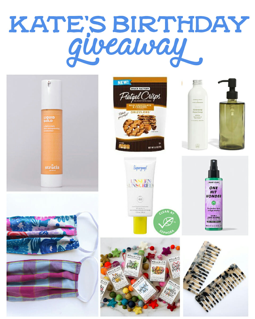 kate's birthday giveaway